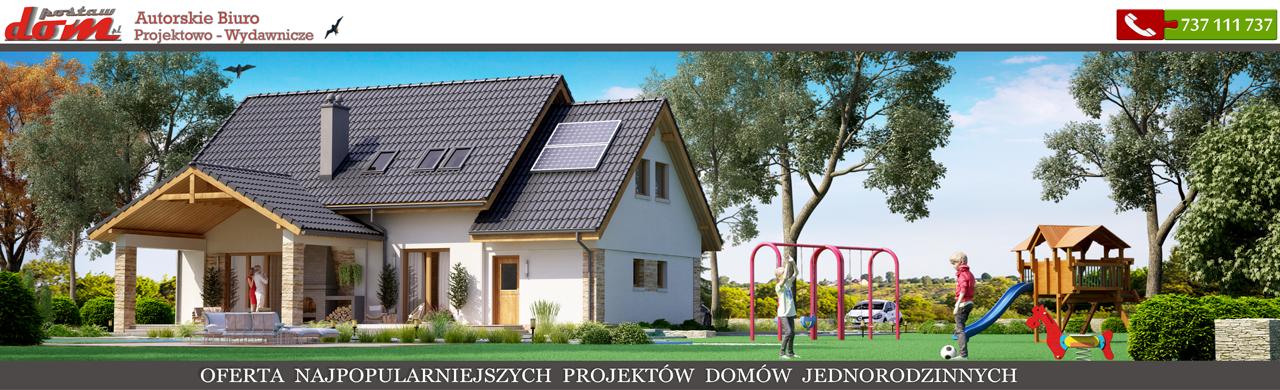 Gotowe Projekty Domow Nowoczesnych Jednorodzinnych I Dwurodzinnych